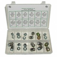 Wheel Nut / Lug Nut Assortment - 24 Pieces