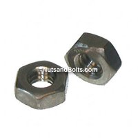 #10-32 Stainless Steel Machine Hex Nut Grade 18.8 Qty (100)