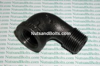 1/2 Black Pipe 90D Street Elbow Qty (1)