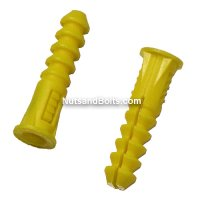 #12 - 14 Plastic Universal Wall Anchors Qty (100)
