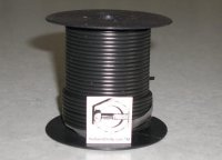 100' Black 16 Gauge Primary Wire Qty (1)