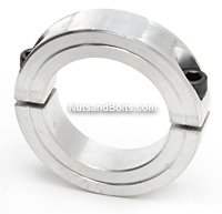 1/4 Double Split Aluminum Shaft Collar Qty (2)