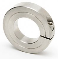 1-1/8 Single Heavy Split Shaft Collar Stainless Steel Qty (1)