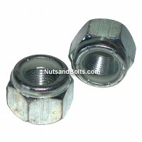 1/4 - 28 Nylon Lock Nuts Fine Qty (100)