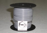 100' Gray 16 Gauge Primary Wire Qty (1)