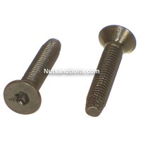 1/4 - 20 X 1 1/2 Flat Head Torx Thread Cutting Screws Qty (50)