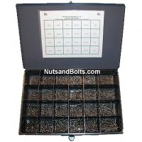 Stainless Pan Tappping Screw Assortment - 540 Pieces