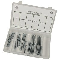 Universal Adjustable Clevis Pin Assortment - 25 Pieces
