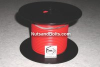 100' Red 10 Gauge Primary Wire Qty (1)