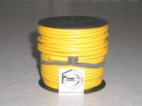 100' Yellow 12 Gauge Primary Wire Qty (1)