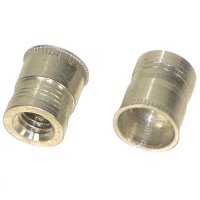 5/16 - 18 Ribbed Aluminum Thread-Sert Threaded Repair Inserts Qty (10)