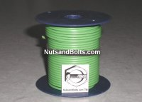 100' Green 16 Gauge Primary Wire Qty (1)