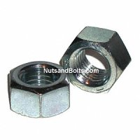 Hex Nuts Grade 5 Coarse Zinc