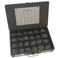Phillips Pan Head Tapping Screw Assortment - 1150 pieces