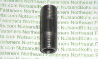 1/4 x 1 1/2 Black Pipe Long Nipple Qty (1)