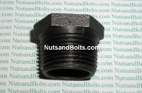3/4 x 1/2 Black Pipe Bushing Qty (1)