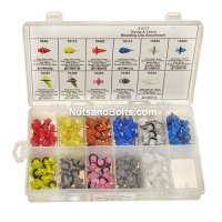 Disco Toyota / Lexus Moulding Clip Assortment - 154 Pieces