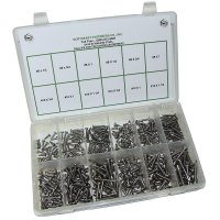 Stainless Steel Phillips Pan Head Self Drilling Screw Assortment
