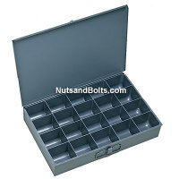 Metal Drawer (Small) - Compartment Drawer - 20 bins