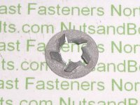 "1/4"" Bolt Dia. Pushnut Bolt Retainers Qty (100)"