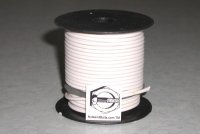 100' White 14 Gauge Primary Wire Qty (1)