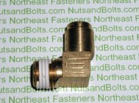 1/4 to 1/4 Brass Connector Tube to Male Pipe Fitting Qty (1)