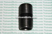 1/2 x 1 1/2 Black Pipe Long Nipple Qty (1)
