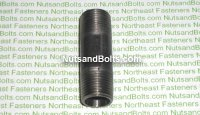 3/8 x 2 Black Pipe Long Nipple Qty (1)