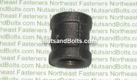 3/8 Black Pipe Coupling Qty (1)