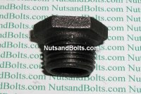 1/2 x 1/4 Black Pipe Bushing Qty (1)