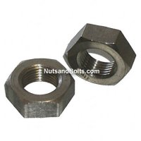 1/2-13 Stainless Steel Jam Nut Grade 18.8 Coarse Qty (50)