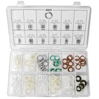 Auveco Oil Drain Plug Gasket Assortment - 108 Pieces