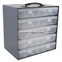 Metal Storage Rack for Plastic Compartments