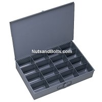 Metal Drawer (Small) - Compartment Drawer - 16 bins