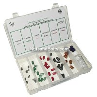 Battery Terminal Solder Slug Assortment - 50 pieces