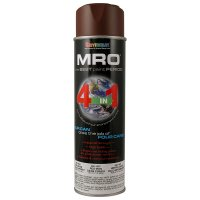 Red Iron Oxide Primer MRO Industrial Enamel Spray Paint - Seymour