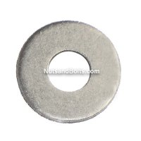 Aluminum 3/16 Diameter: Round Rivet Backup Washers Qty (100)