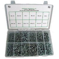 Phillips Pan Tapping Screw Assortment 725 pieces
