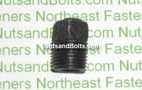 1/8 Black Pipe Square Plug Qty (1)