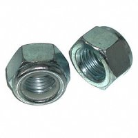 M10 x 1.5 Metric Nylon Lock Nuts Qty (25)