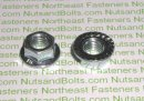 Serrated Metric Spin Lock Nuts