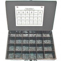 Phillips Round Head Machine Screw Assortment - 1900 pieces