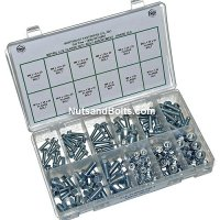 Metric J.I.S. Flange Nut & Bolt Assortment - 155 pieces
