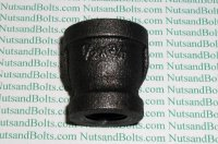 1/2 x 3/8 Black Pipe Reducing Coupling Qty (1)