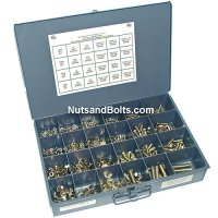 Nut, Bolt and Washer Assortment Grade 8 Fine 1025 Pieces