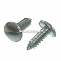 Slotted Truss Head License Plate Screw (Qty) 100