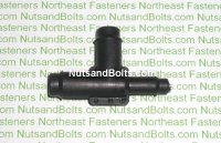 3/8 x 1/4 x 3/8 Inch Tee Hose and Tubing Connectors Qty (10)
