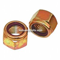 5/16-18 Nylon Lock Nuts Grade 8 Coarse Qty (100)