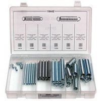 Auveco Zinc Plated Extension Spring Assortment - 38 Pieces