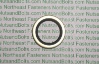 Steel with Rubber Seal Oil Drain Plug Gaskets Qty (10)
